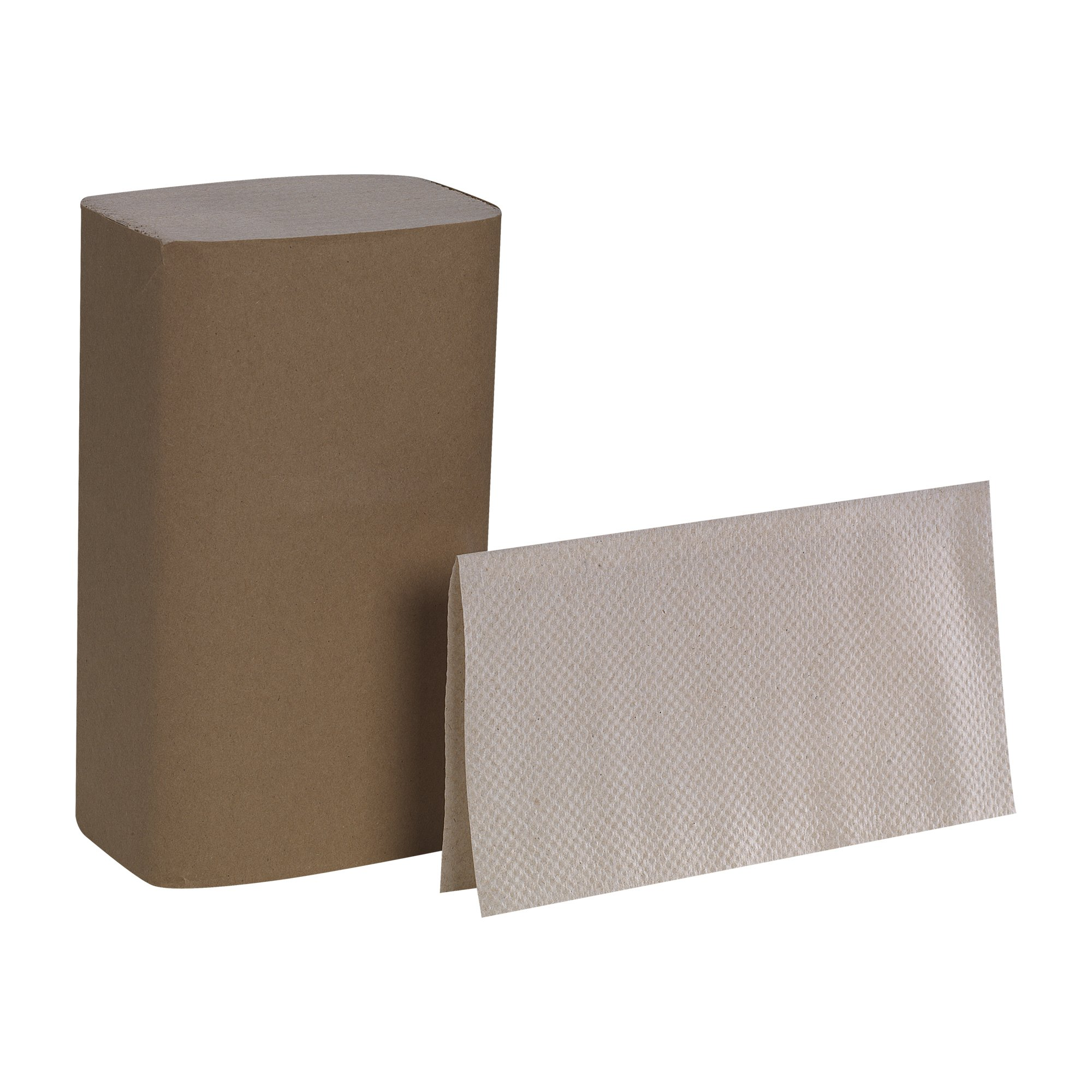 Pacific Blue Basic S-Fold Recycled Paper Towel by GP PRO, Brown, 23504