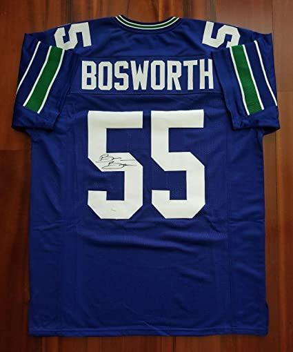 reputable site 2f3fd 0ddcc Brian Bosworth Signed Jersey - JSA Certified - Autographed ...