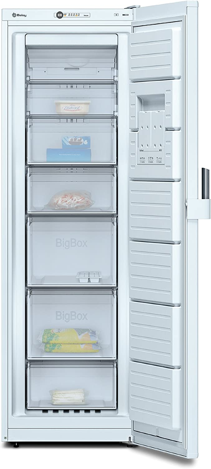 Balay 3GF8601B - Congelador Vertical 3Gf8601B No Frost: Amazon.es ...