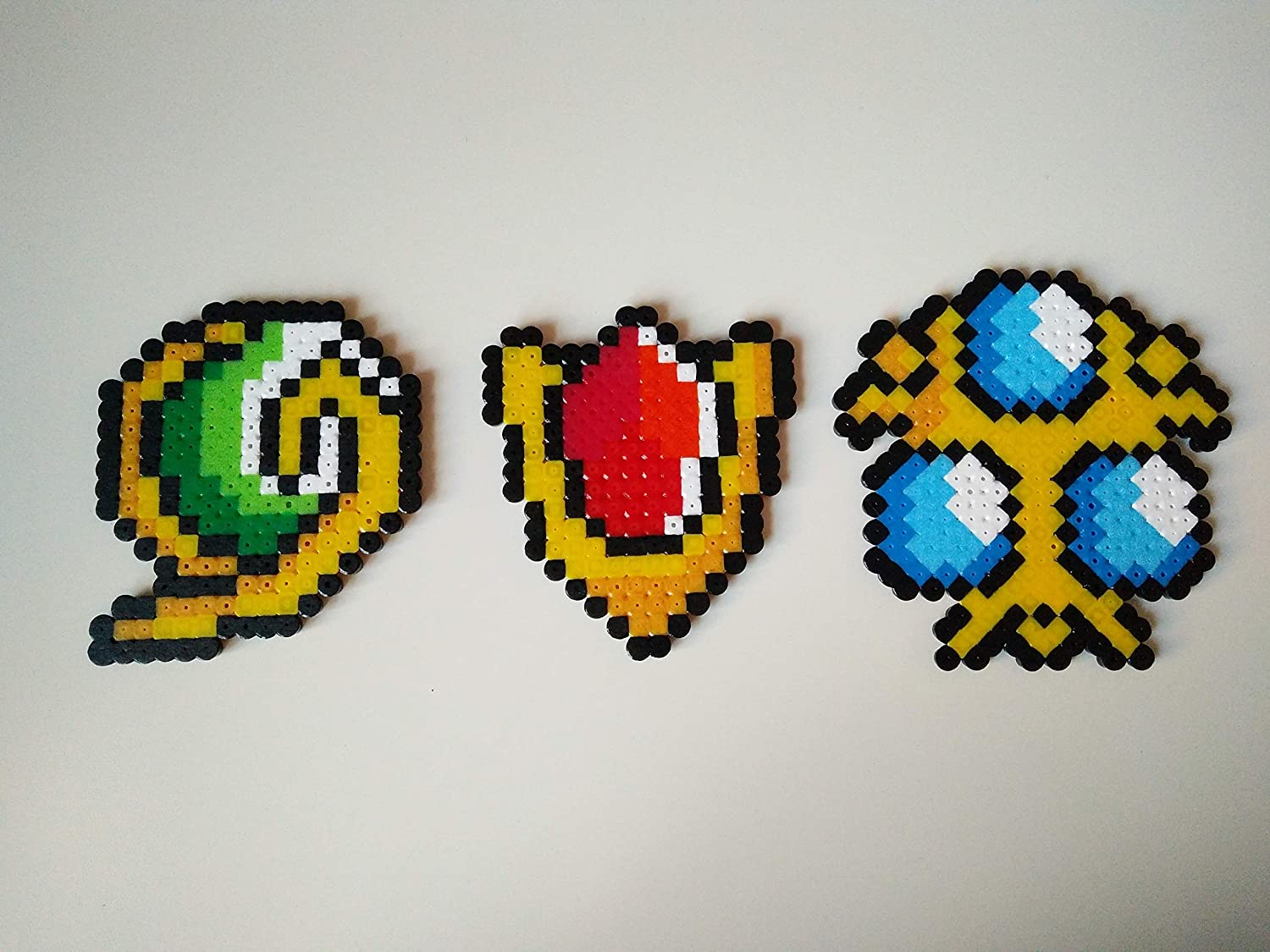 Zelda Characters Items Made Of Ironing Beads Link Etsy