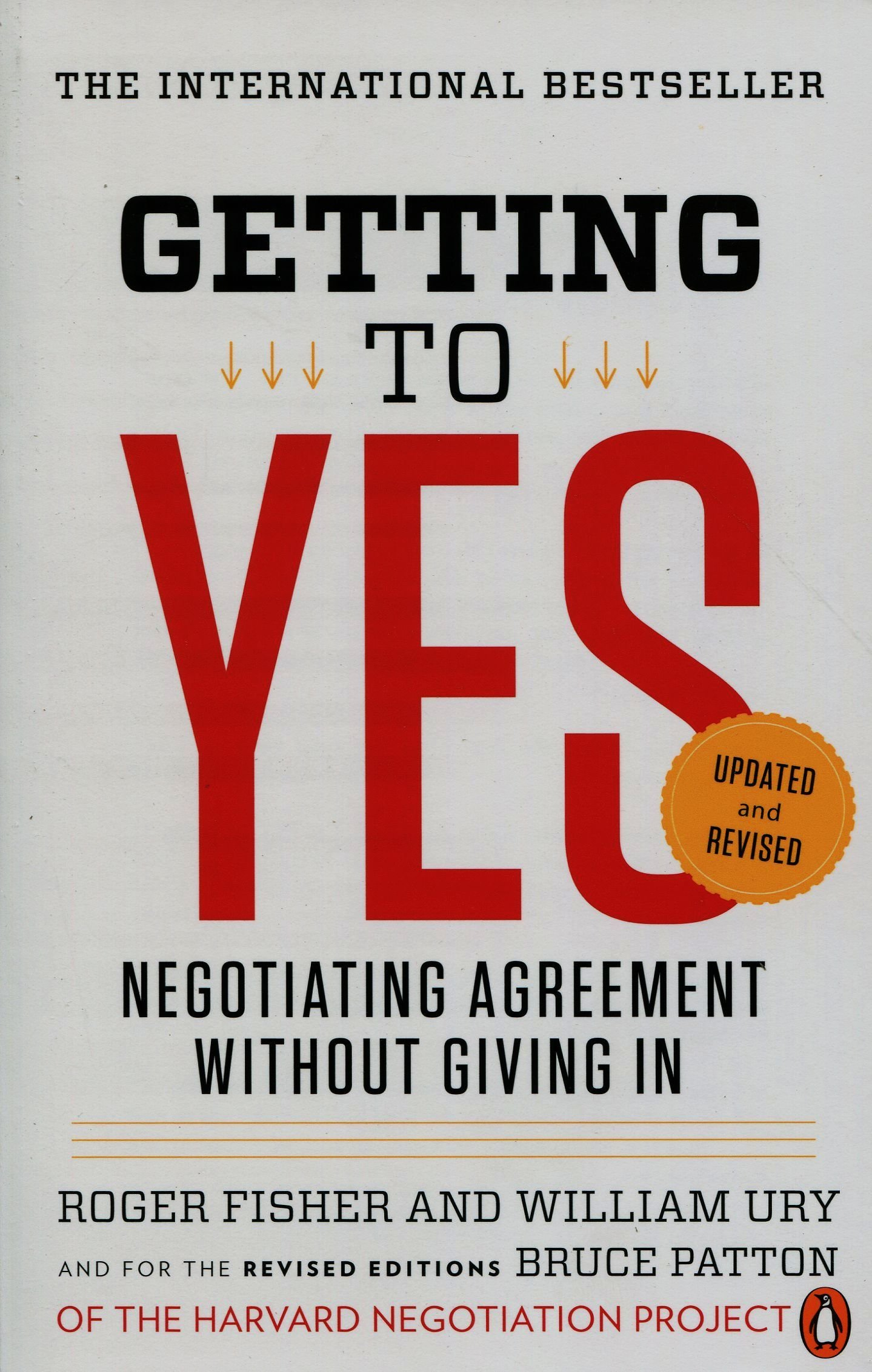 Getting to Yes: Negotiating Agreement Without Giving In ISBN-13 9780143118756