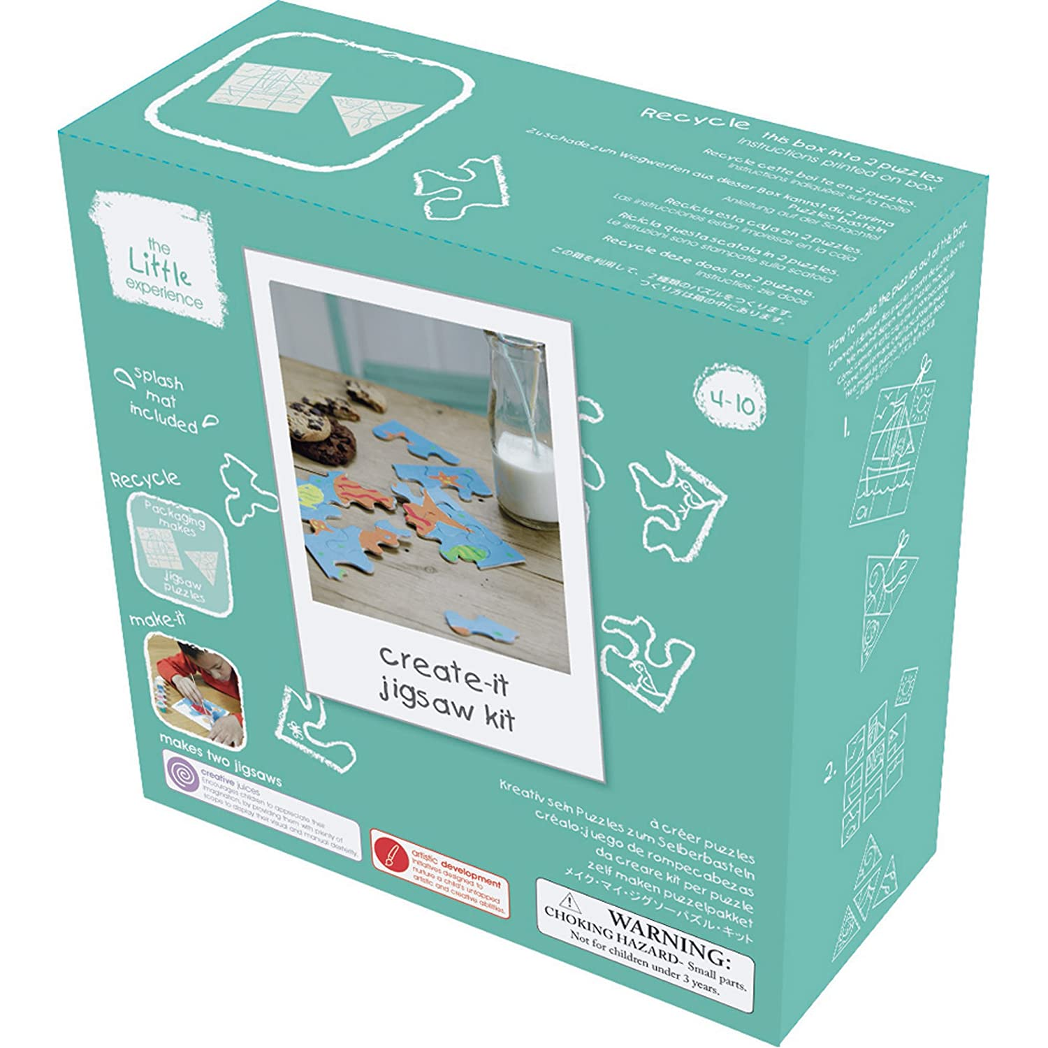 Create-it Jigsaws Kit The Little Experience TLE3047