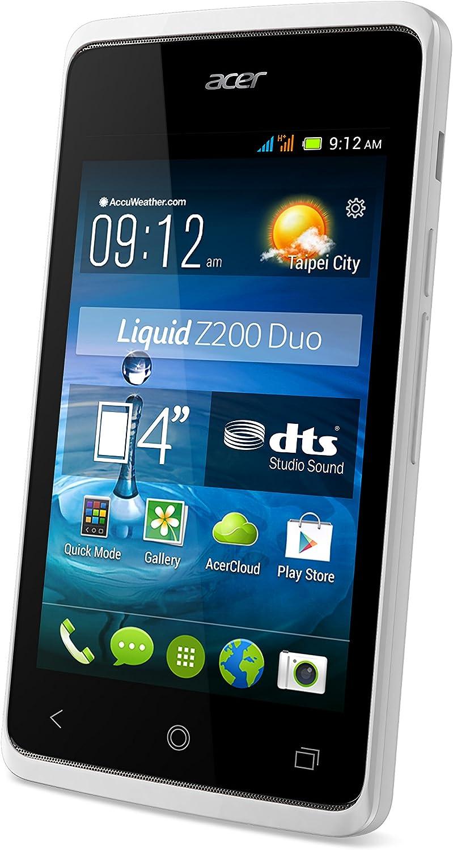 Acer Liquid Z200 - Smartphone libre Android (pantalla 4