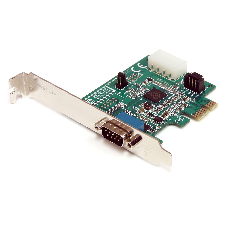 StarTech.com PEX1S952LP - Tarjeta adaptadora PCI-e (1 Puerto Serie Perfil bajo RS232, 1 x DB9 Macho)