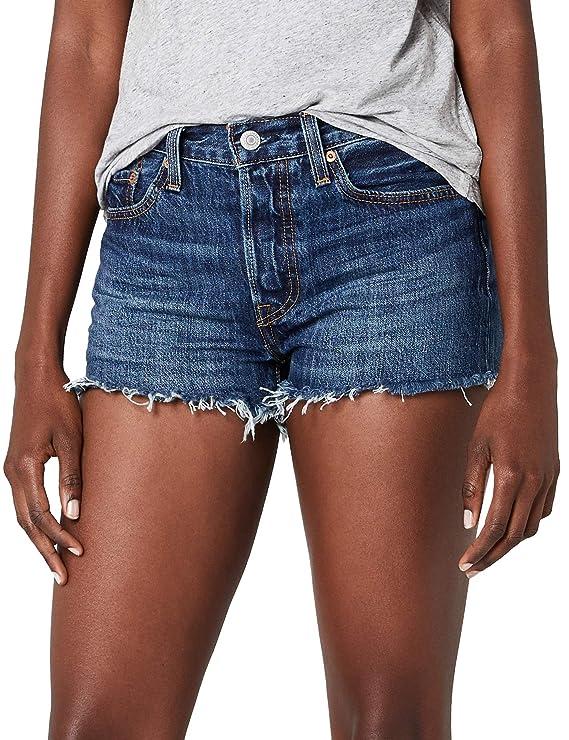 Levi's 501 Short, Pantalones Cortos para Mujer