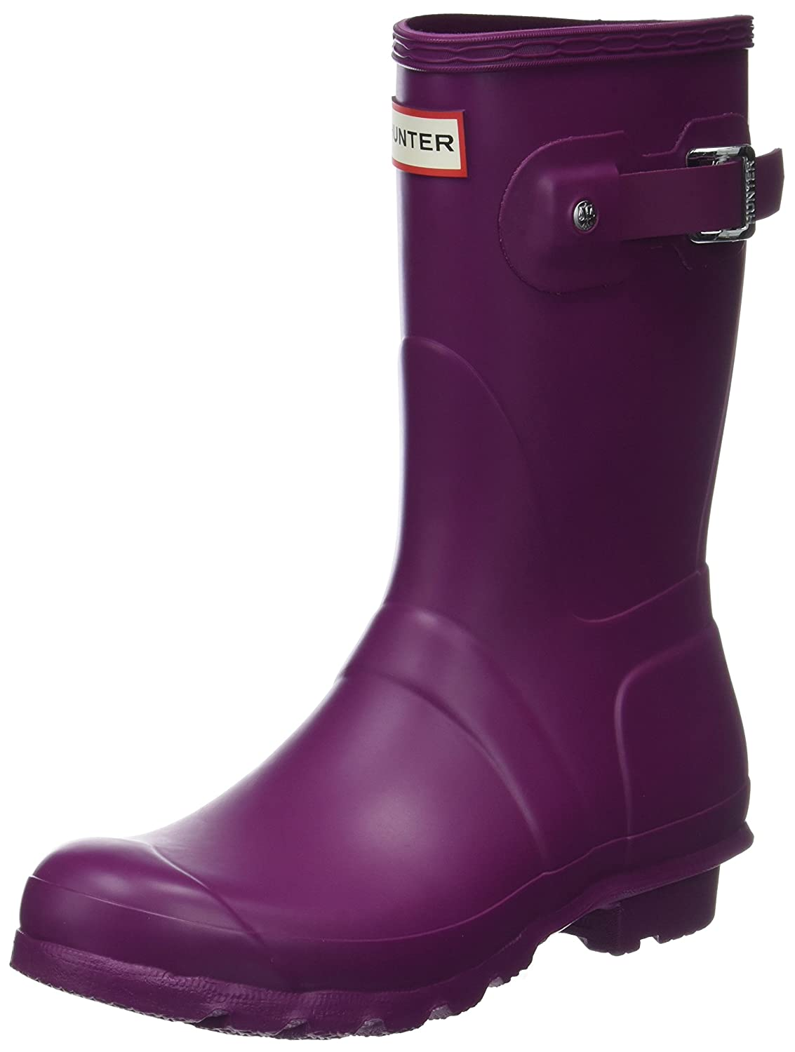 Hunter Women'S Original Short Mid-Calf Rubber Rain Boot36 EU|Morado (Violet Rvi)