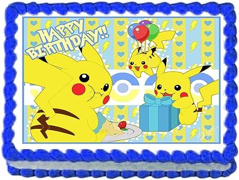 fondant toppers Pokemon inspired cake toppers birthday cake