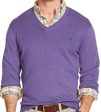 Amazon.com: RALPH LAUREN Polo - Sudadera de lana de merino ...