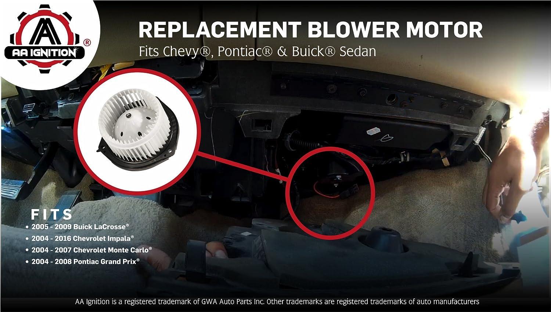 Blower Motor fits 2003-2007 Hummer H2  FOUR SEASONS