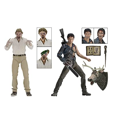 """NECA - Evil Dead 2 (30th Anniversary)Boxed Set – 7"""" Scale Action Figures – Hero Ash and Deadite Ed: Toys & Games"""