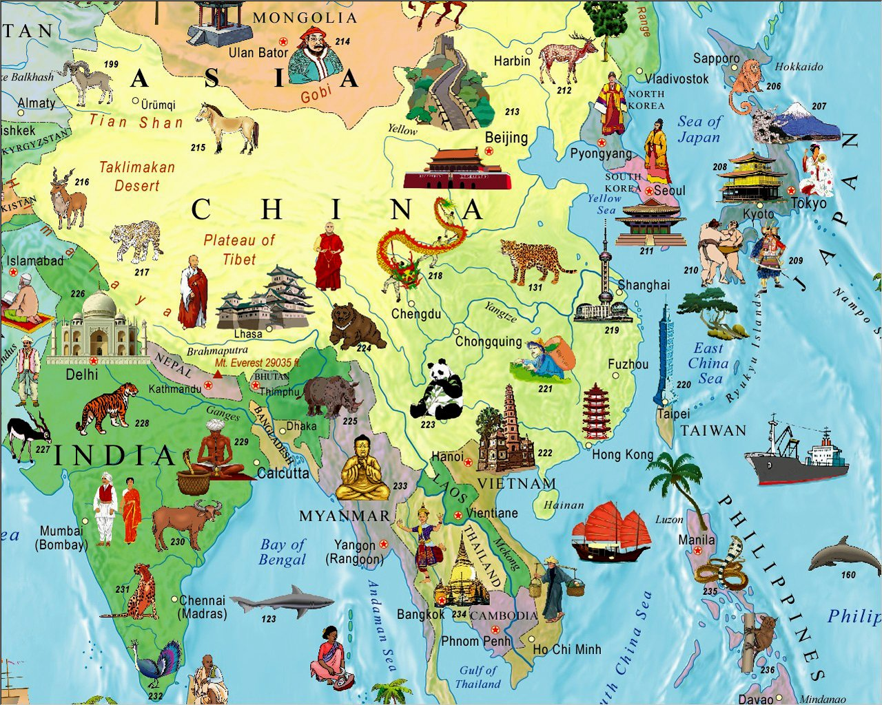 Ilrated Map Of The World For Kids Children S World Map Akros 8601400405505 Amazon Com Books