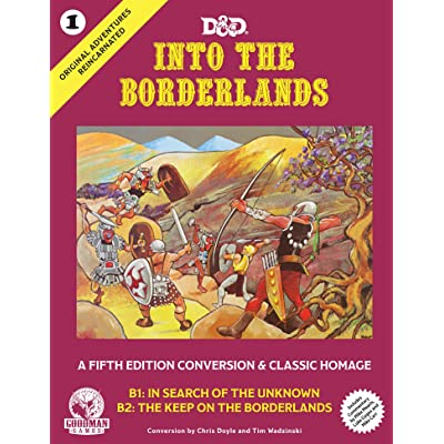 Original Adventures Reincarnated #1 - Into The Borderlands: Goodman Games: Toys & Games