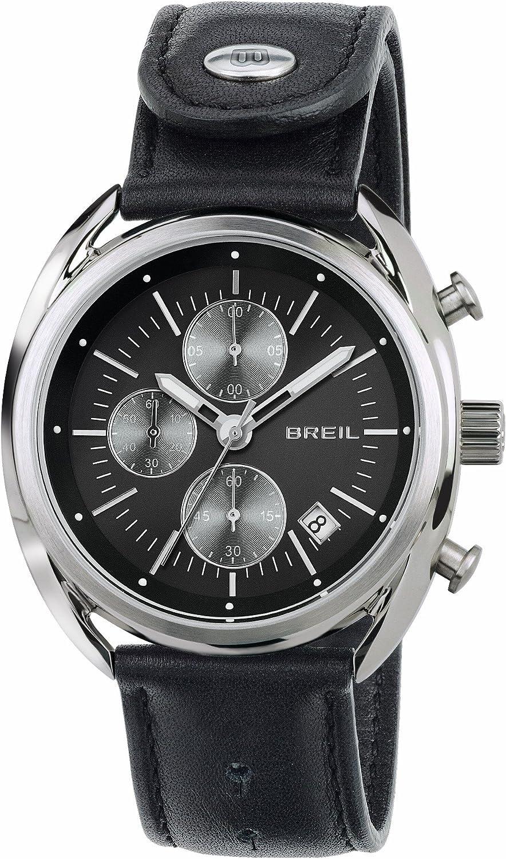 Breil Reloj Cronógrafo para Hombre de Cuarzo con Correa en Cuero TW1527