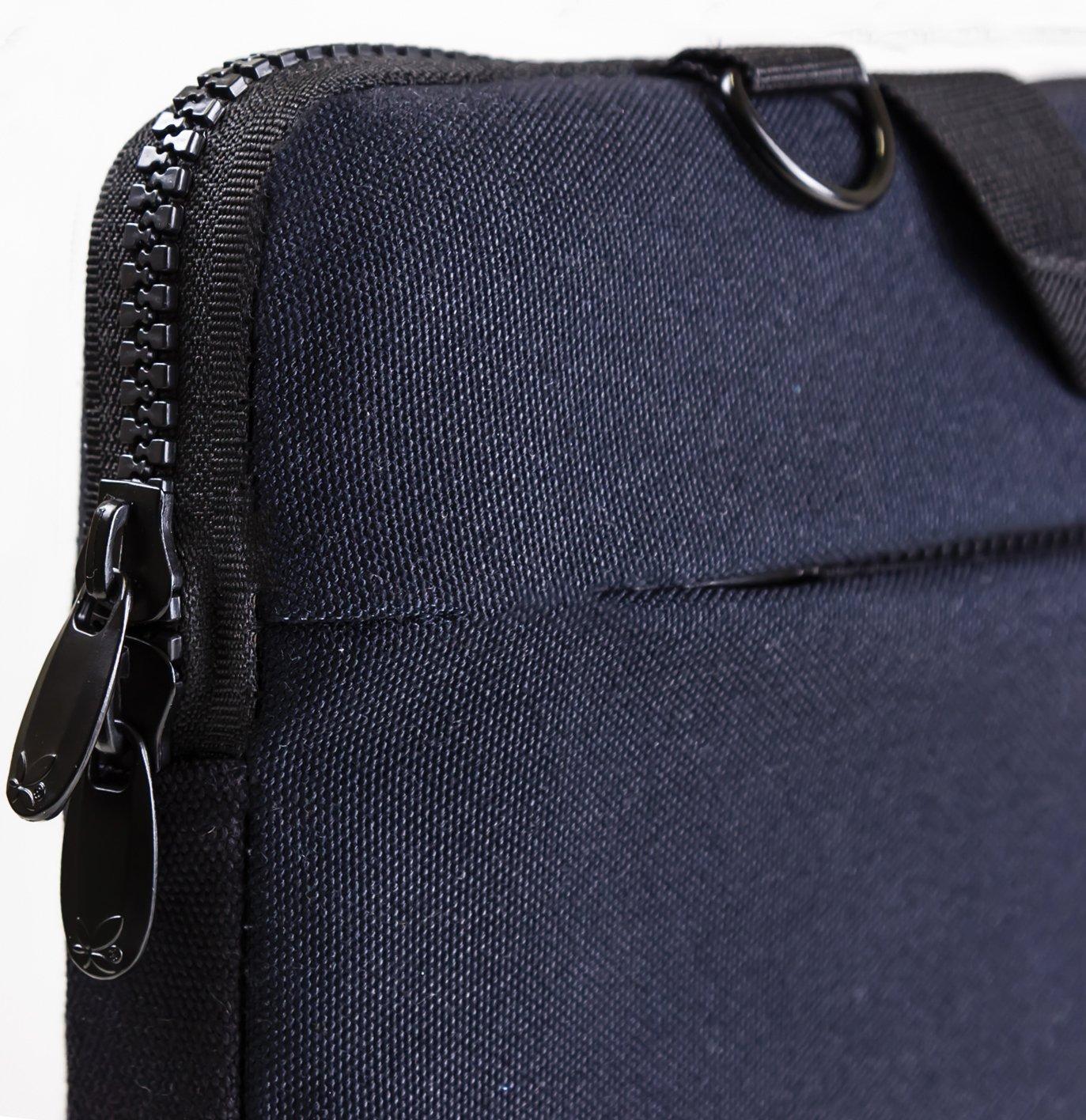 Luxburg/®/-/Bolso acolchado con bandolera para ordenador port/átil bolsa de hombro multifuncional 15,6 pouces gato sobre guitarra
