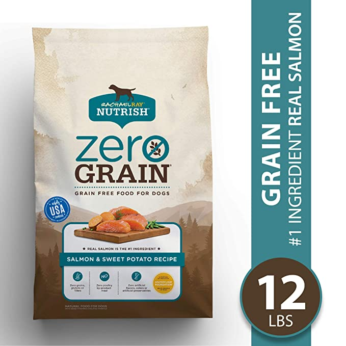 Rachael Ray Nutrish Zero Grain Dry Dog Food - Most Economical Dog Food for Seizures