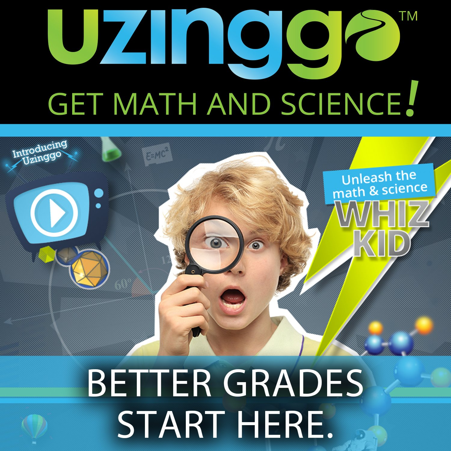 Uzinggo. Online Middle School Math Lessons for Mac [Download] by Uzinggo