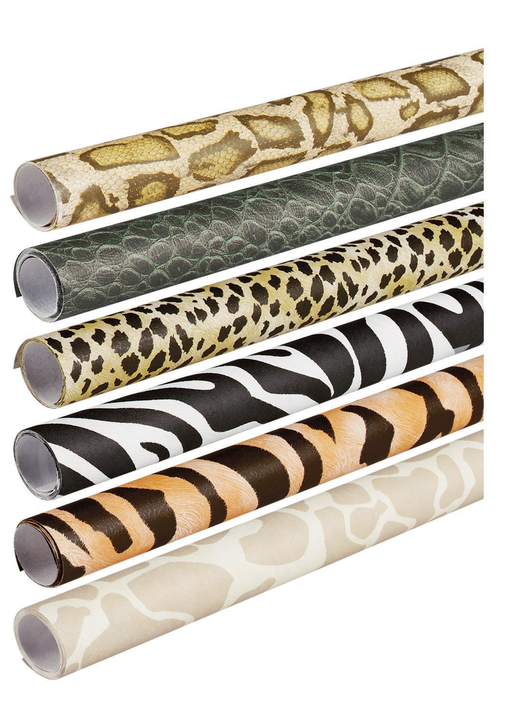 Pacon Fadeless Safari Prints Art Paper, 2-Feet by 8-Feet rolls, 6 Assorted Designs (56920) by PACON