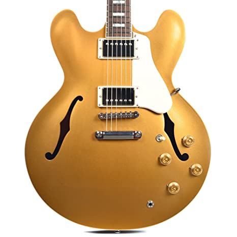 Gibson ES-335 Goldtop 2016 · Guitarra eléctrica: Amazon.es ...