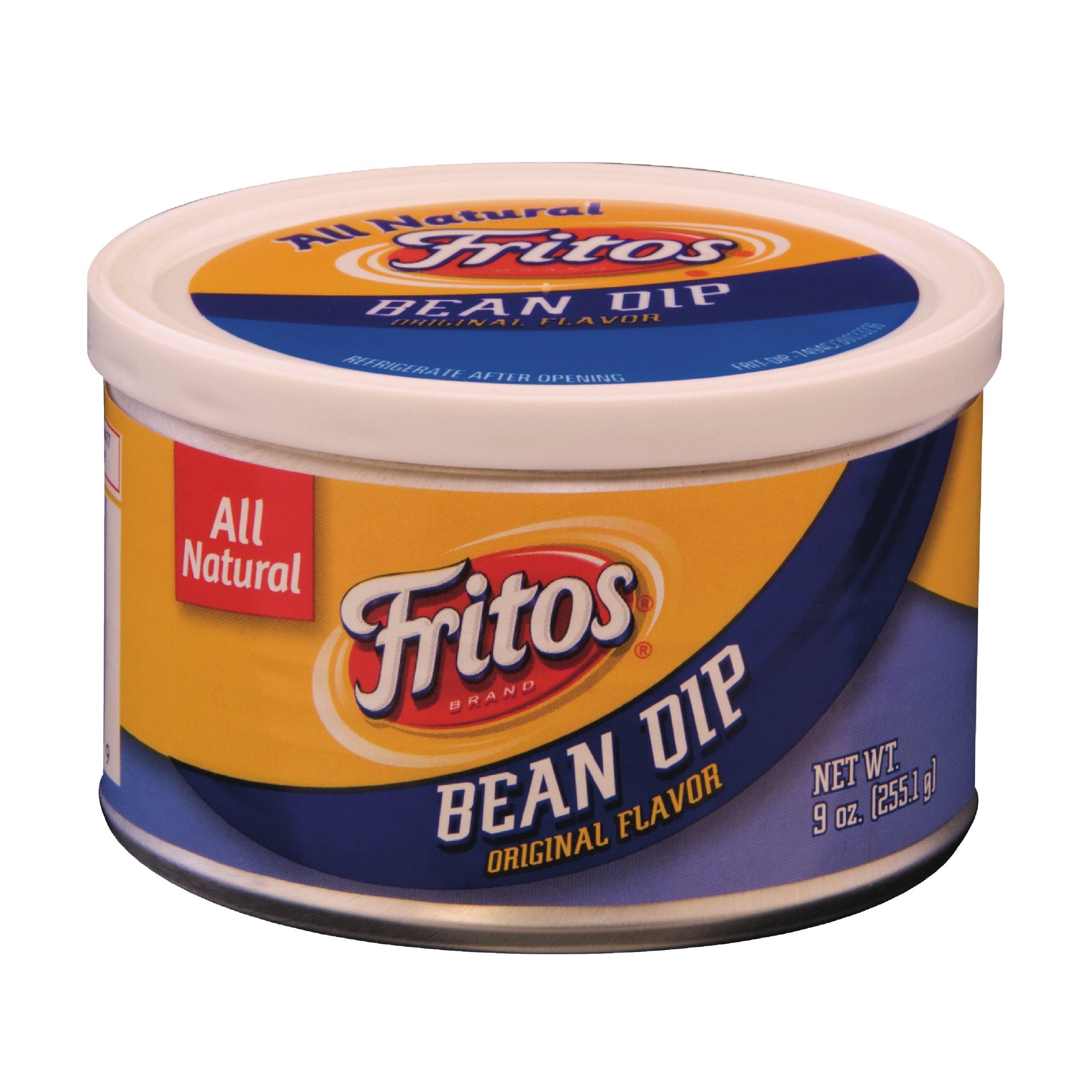 Fritos Bean Dip, 9 Ounce (Pack of 6) by Frito Lay