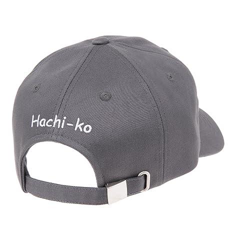 5cd770cbd9b WITHMOONS Ball Cap Dog Embroidery Shiba Inu Doge Hachi-ko KR1304 (Grey) at Amazon  Men s Clothing store
