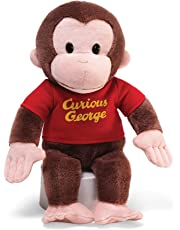 Gund Curious George Red Shirt 12-Inch Plush