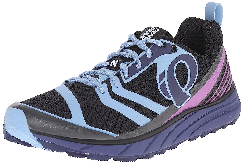 Pearl iZUMi Women's EM Trail N2 v2 Running Shoe B011SGCHD2 6.5 B(M) US|Black/Deep Indigo