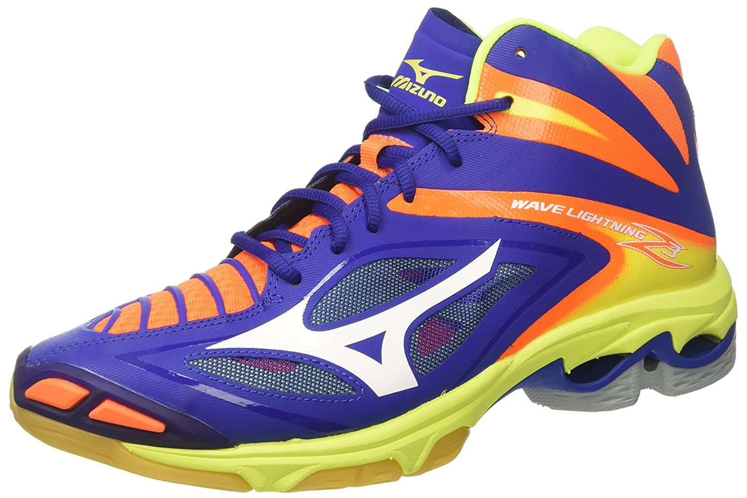 durable service Mizuno Wave Lightning Z3 Mid, Chaussures de