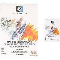 Alex Schoeller A.SPR.RSM.165.25 25x35 165 Gr Resim Defteri, standart