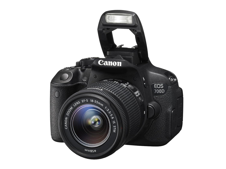 Canon EOS 700D + EF-S 18-55mm IS STM: Amazon.es: Electrónica