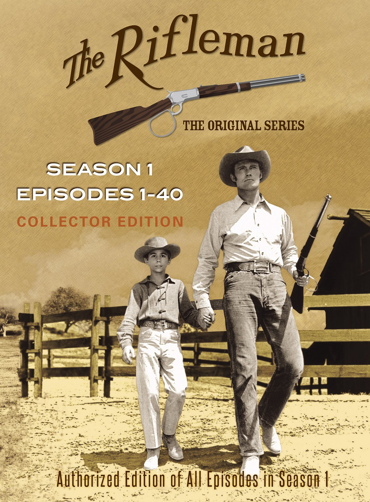 The Rifleman Official Season 1 (Episodes 1 - 40) by Levy-Gardner-Laven Productions, Inc.