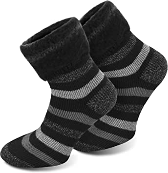 Calcetines POLAR HUSKY muy calientes, con felpa y lana de oveja / ¡Nunca más pies fríos! Couleur Extrem/Hot/Noir/Gris Taille 39/42: Amazon.es: Deportes y ...