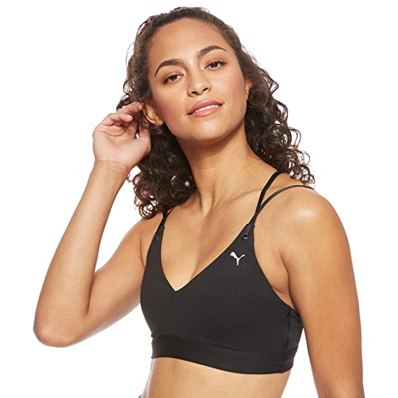 PUMA Strappy Studio Bra L Sujetador Deportivo, Mujer: Amazon.es ...