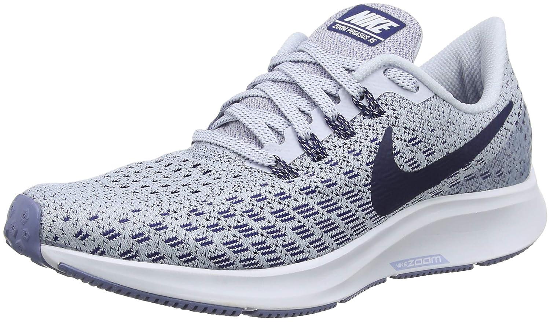 Football Grey White Aluminum bluee Void Nike Women's Air Zoom Pegasus 35 Running shoes