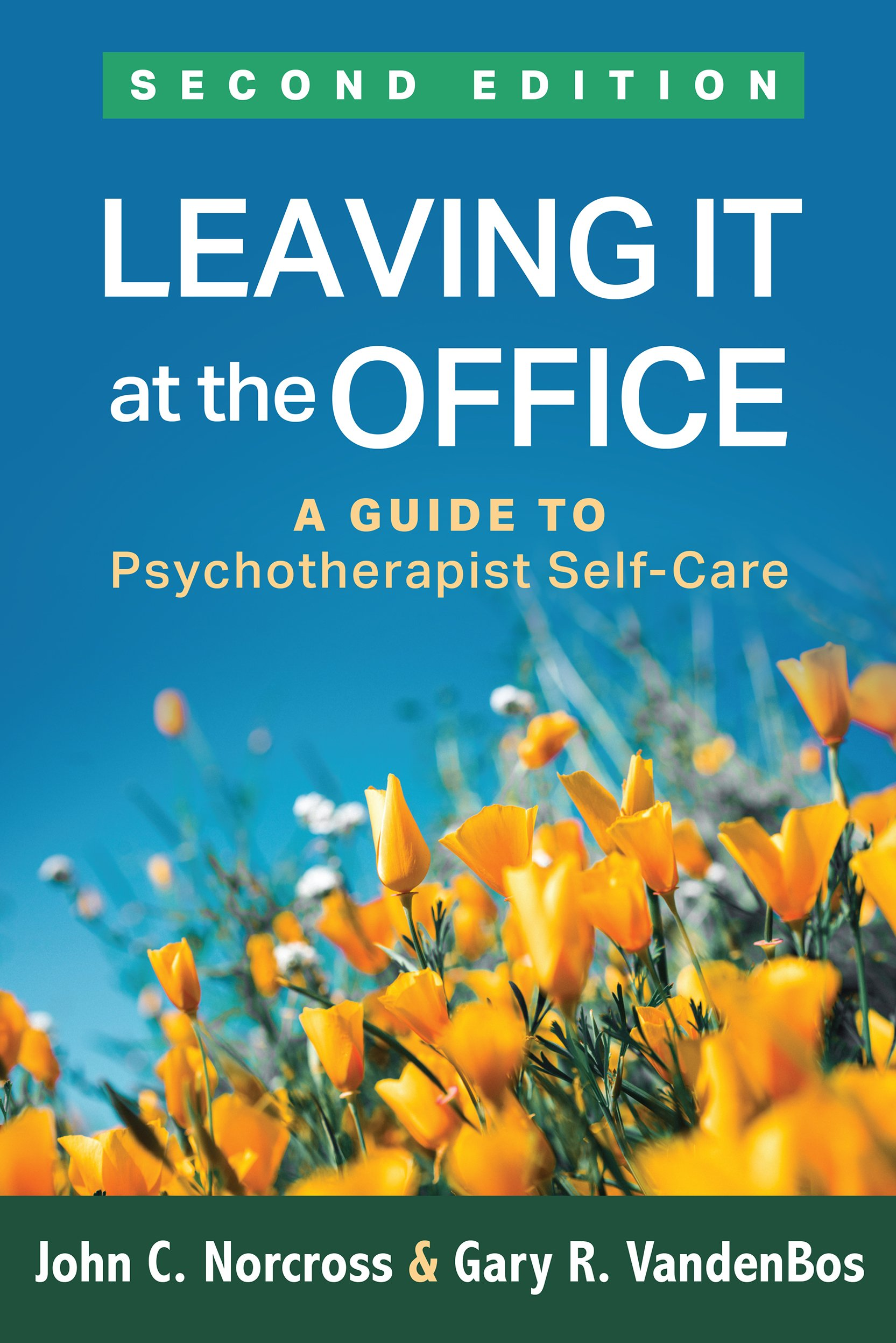 Leaving It At The Office Second Edition  A Guide To Psychotherapist Self Care