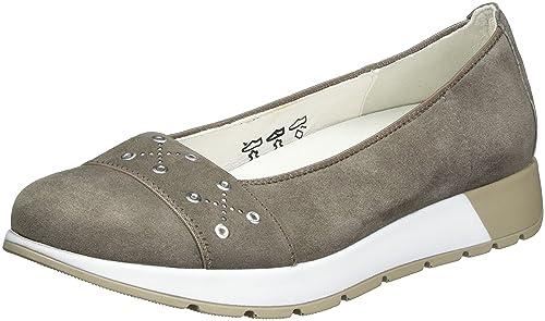 Waldläufer Hoppy, Mocasines para Mujer, Marrón (Talpa 133), 36.5 EU: Amazon.es: Zapatos y complementos