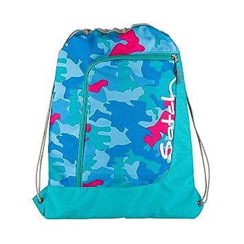 Satch Sportbeutel Caribic Camou 9D9 blau pink camouflage