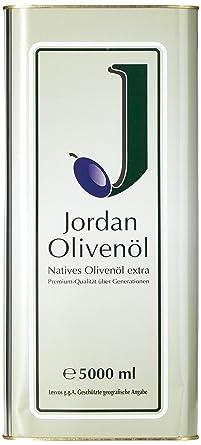 buy popular 95154 ba652 Jordan Olivenöl Natives extra - 5,00L Kanister, 1er Pack (1 x 5