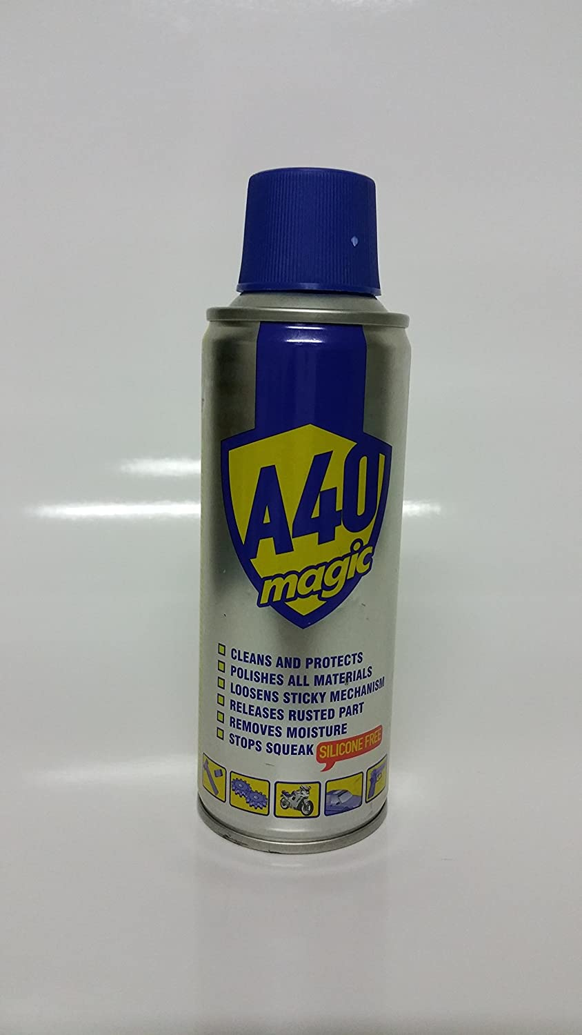 Akfix YA420 A40 Magic - Lubricante y quitamanchas multiusos (6,76 L) oz. Aerosol Can, 200 ml (Pack de 24): Amazon.es: Amazon.es