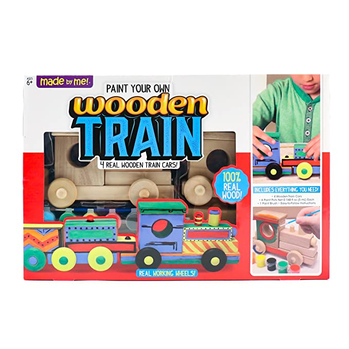 Amazon Made By Me Wooden Train By Horizon Group Usa Toys Games