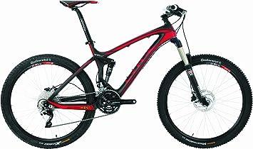 Bicicleta MTB BH Lynx 4.8 9.5 Carbono Negro Rojo: Amazon.es ...