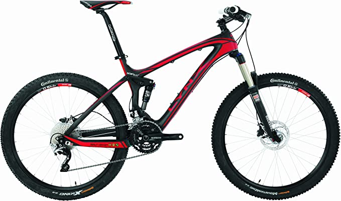 Bicicleta MTB BH Lynx 4.8 9.5 Carbono Negro Rojo: Amazon.es: Deportes y aire libre
