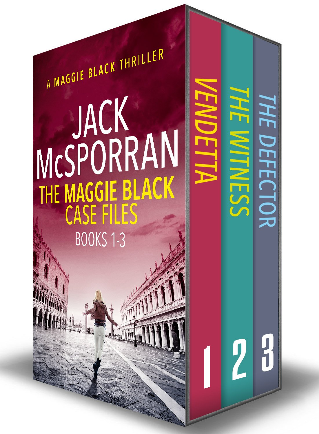 The Maggie Black Case Files Books 1-3 (Maggie Black Case Files Collection)