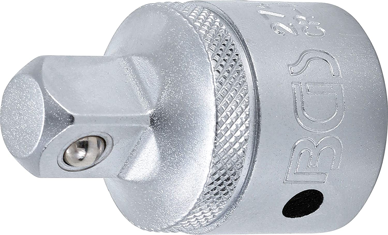 BGS 195 Adaptador de llave de vaso de impacto 3//4 - cuadrado exterior 25 mm 1 cuadrado interior 20 mm