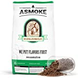 ASMOKE Wood Pellets for Smoker Grill, 100% Pure Food-Grade Apple Hardwood Pellets Straight from The Orchard, Perfect for Pell