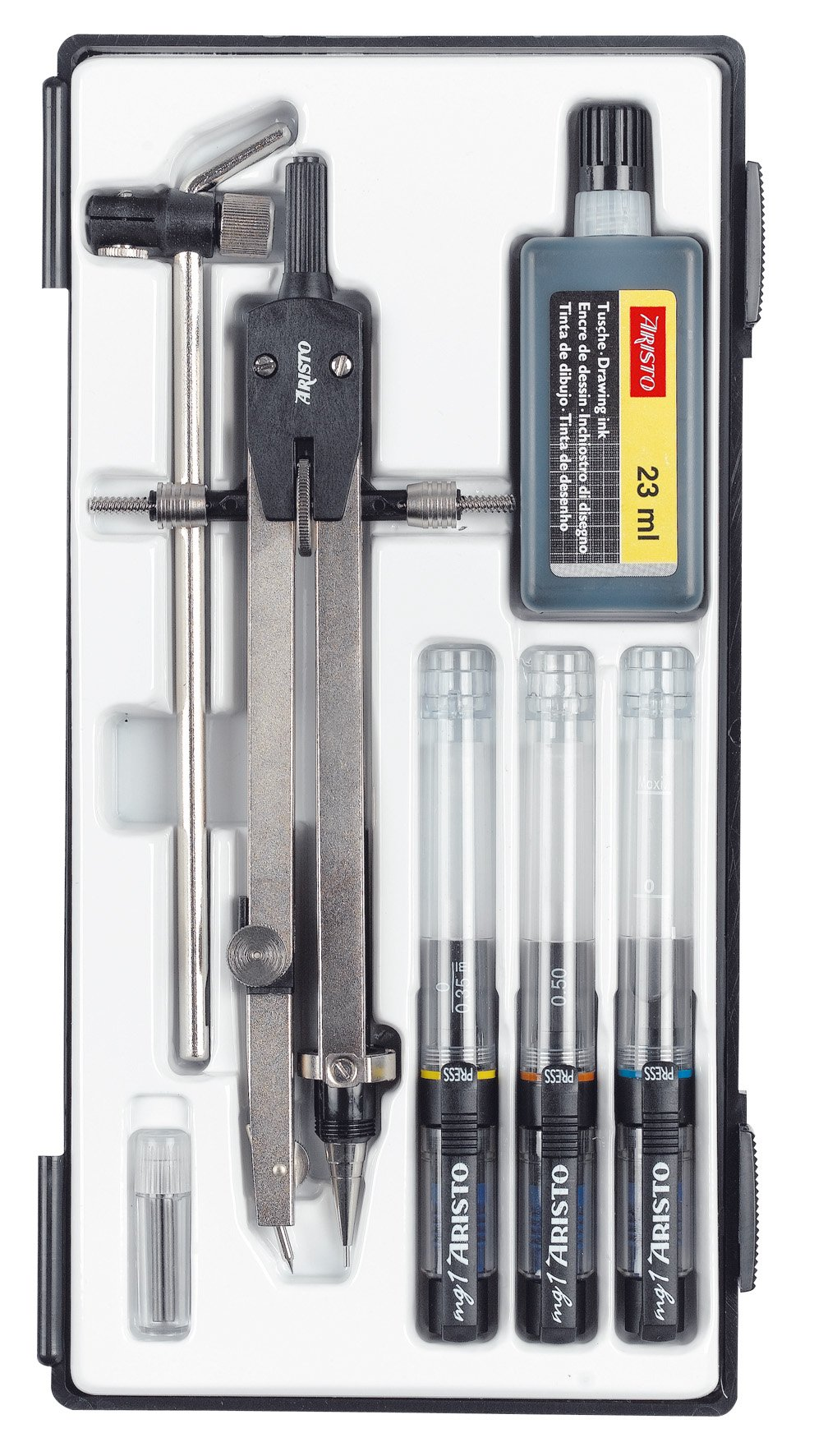 Aristo MG1 AR64170 Professional Technical Drawing Pen Set