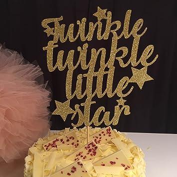 Qidushop Twinkle Twinkle Little Star Mit Baby Geburtstags Kuchen