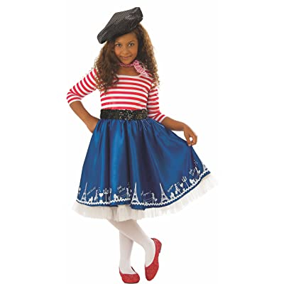 Rubie's Costume Co - Girls Petite Mademoiselle Costume: Clothing