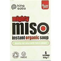 King Soba sopa de Miso Tofu & Ginger