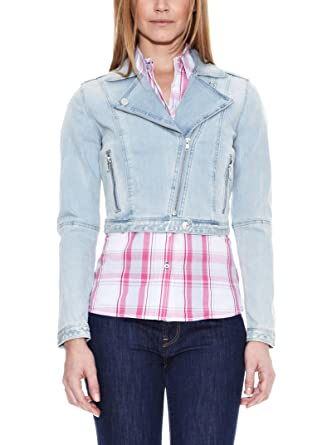 Pepe Jeans London Jacke Denim Alberton, Blau L  Amazon.de  Bekleidung 7d41ca729c