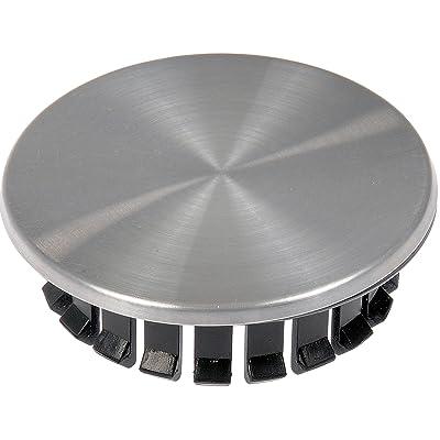 Dorman 909-013 Brushed Aluminum Look Wheel Center Cap: Automotive